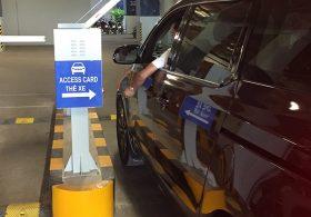 Máy cấp phát thẻ thông minh – điểm đột phá trong hệ thống kiểm soát xe hiện đại